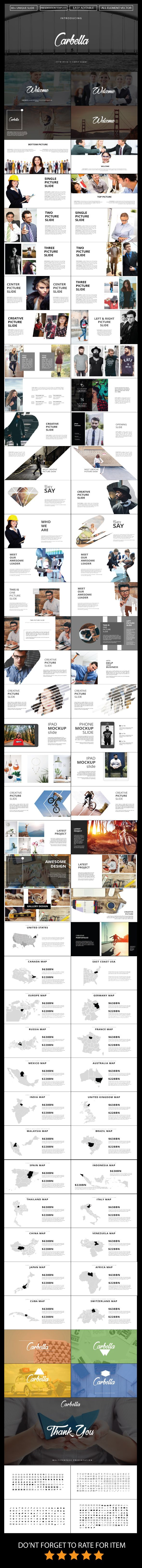 Carbella - PowerPoint Multipurpose Template