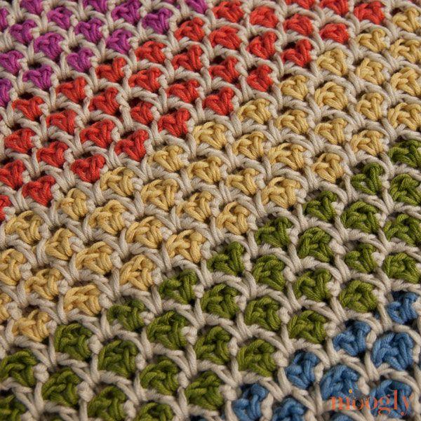 Mercado marroquino Tote: padrão #crochet livre no Moogly!