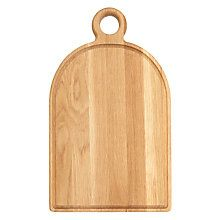 Buy John Lewis Croft Collection Paddle Chopping Board, Oak Online at johnlewis.com