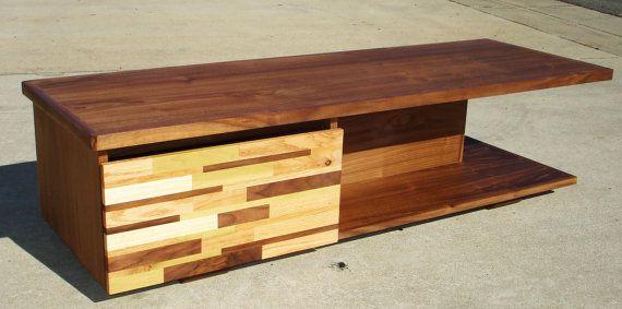 mid century modern tv console credenza tv stand by pmistudios etsy pinterest tvs. Black Bedroom Furniture Sets. Home Design Ideas