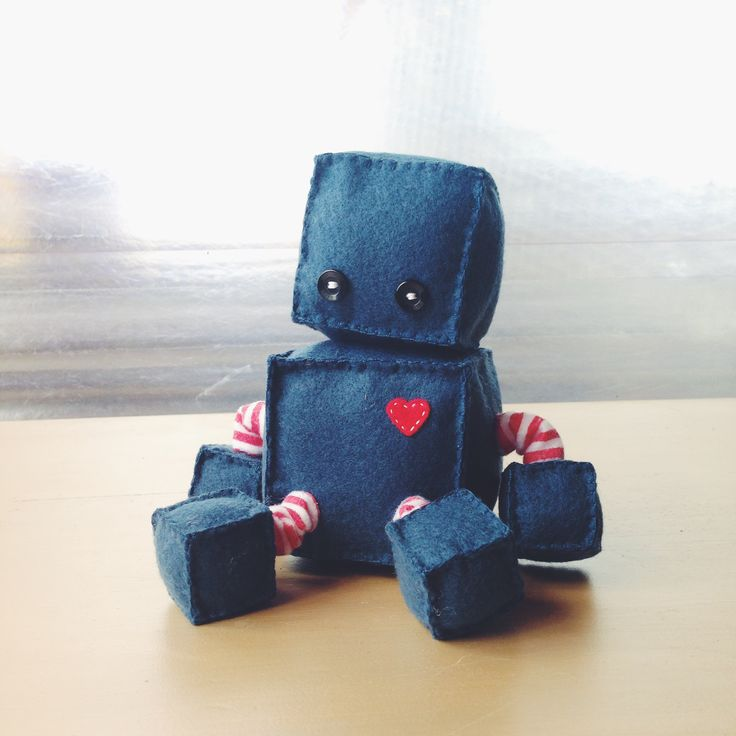 Robot Soft Toy - Tidy & Co