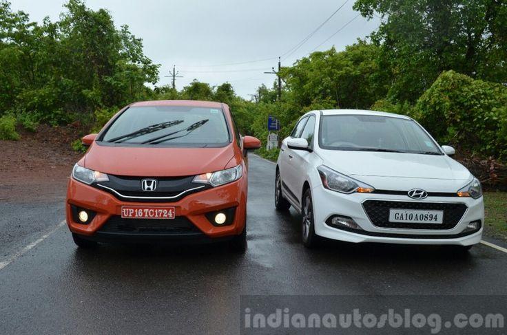 Recap - 2015 #Honda #Jazz vs #Hyundai #Elite #i20 vs #VW #Polo vs #Maruti #Swift – Comparo -