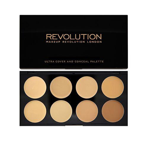 Makeup Revolution Ultra Cover & Concealer Palette