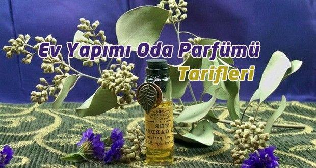 ev yapımı oda parfümü