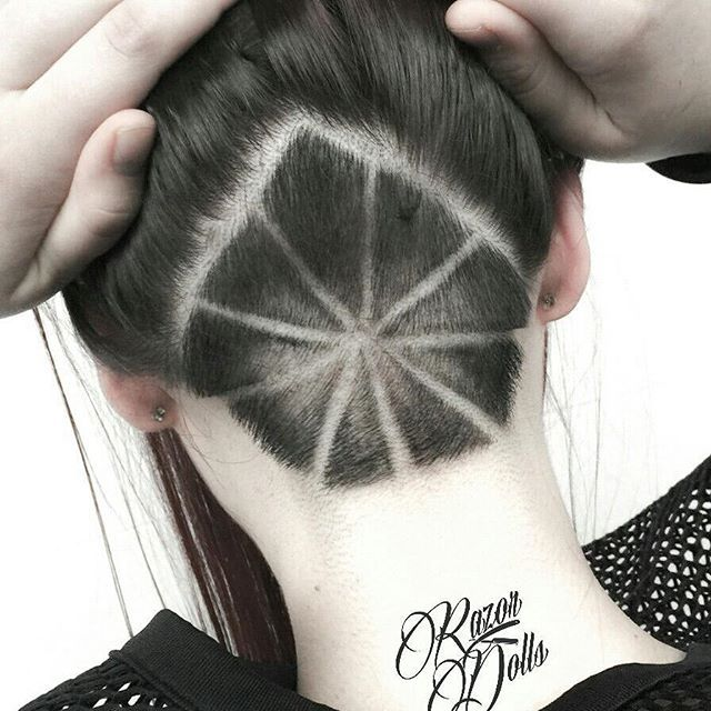 166 best hairtattoo line design images on pinterest hair for Tattoo hair line