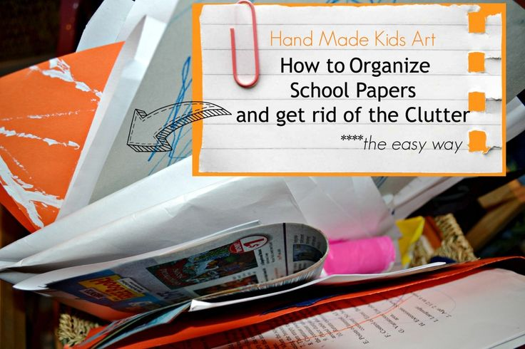 139 best creative kids images on pinterest art classroom for Ways to get rid of clutter