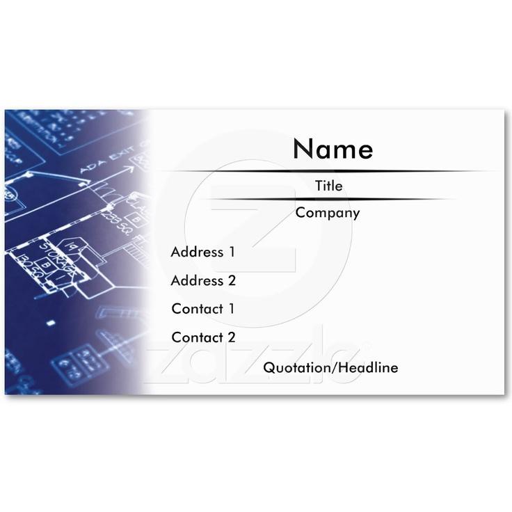 21 best business card ideas images on pinterest logo design blueprint business card malvernweather Gallery