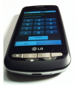 LG VS660 Vortex Cell Phone, Android Touch Screen. Black. nice phone for the price