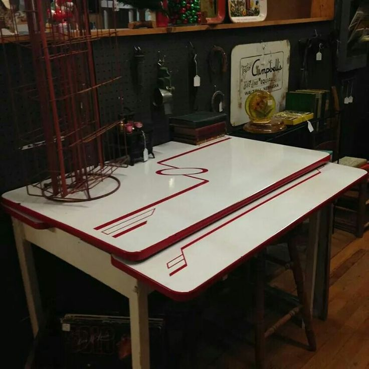 12 Art Deco Kitchen Designs And Furniture: 133 Best Vintage Enamel Or Formica Kitchen Tables And