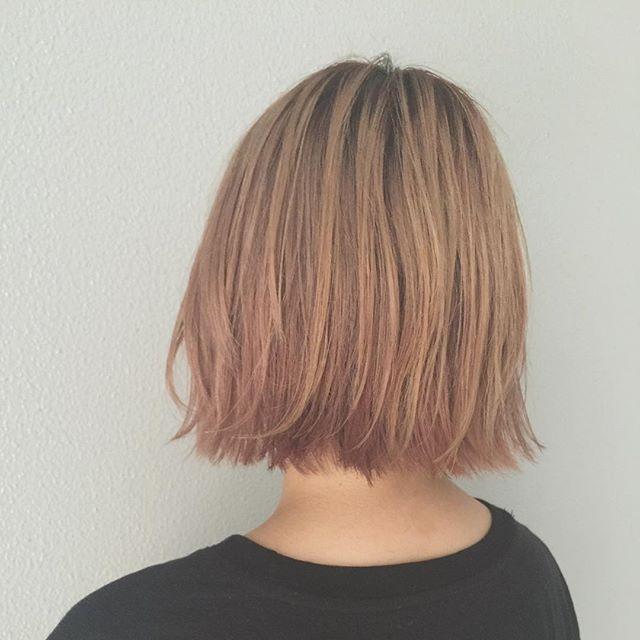 この画像は「潔いシルエットに、きゅん。切りっぱなしヘアだけのヘアカタログ」のまとめの2枚目の画像です。