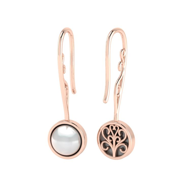 Silver Pearl Earrings. R1400 Product Code- WE00119