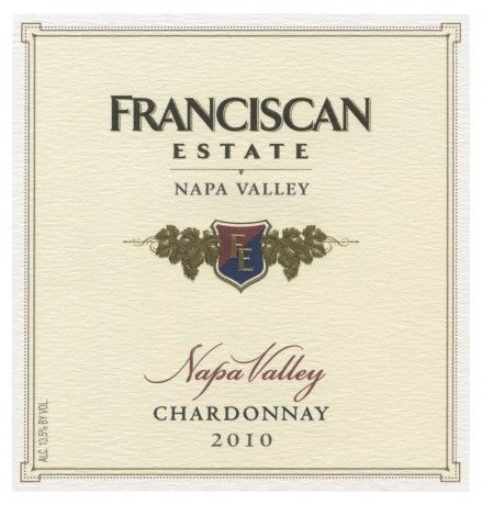 Franciscan Estate Napa Valley Chardonnay: This wine features bright pear, Gala apple, citrus and minerality notes. It has a lovely acidity to balance the fruit and infusion of oak from barrel fermentation.: Franciscan Estate