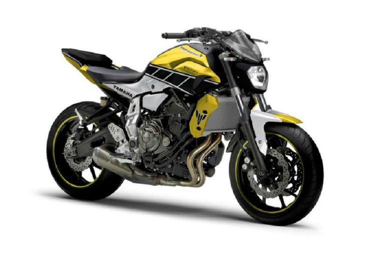 Ao navegarmos pela internet demos com esta imagem da Yamaha MT07 e ficámos a pensar se seria uma edição especial da própria Yamaha ou eventualmente uma preparação feita por alguém sobre a original. Ao aprofundarmos a pesquisa percebemos que era de facto publicidade de uma empresa que desenvolve nova
