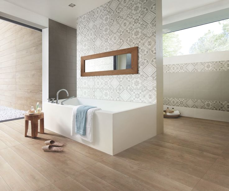 Edilcuoghi Cottage / Edilcuoghi Colorfull. The energy of the colour finds home in ceramic surfaces drawing changing shadows and natural geometries. #bianco #tortora #antracite #bathroom #bath #spa #mirror #white #effettolegno #wall #blue #edilcuoghi #gres #bicottura #decor #mosaic