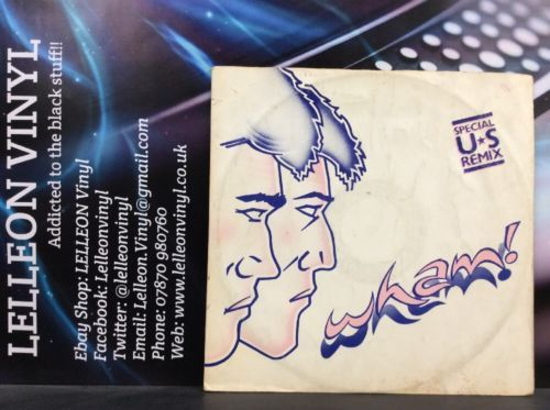 "Wham ! Wham Rap 12"" Single Vinyl IVLA132442 Pop 80's Music:Records:12'' Singles:Pop:1980s"
