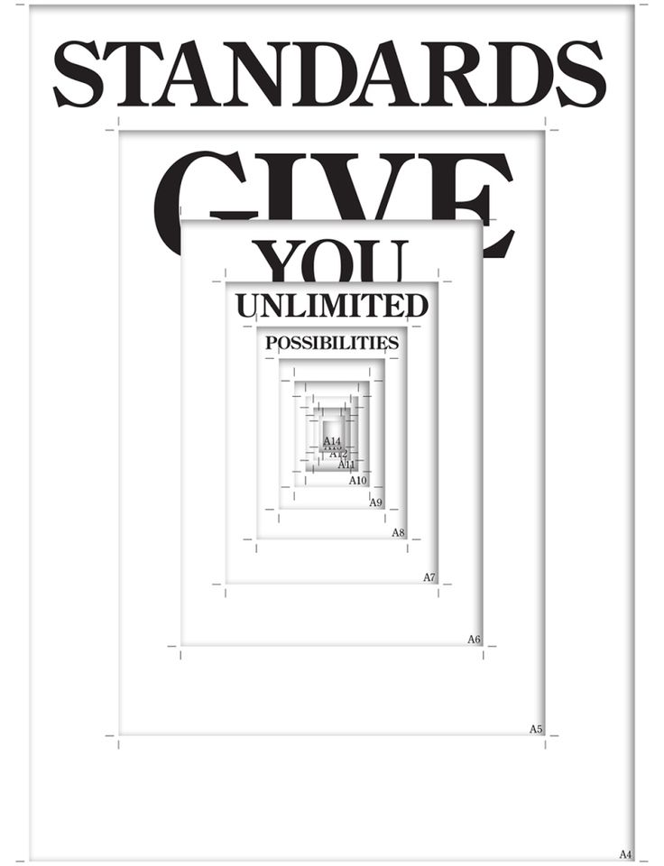 Standards give you unlimited possibilities – By Sara Landeira, Designpolitie