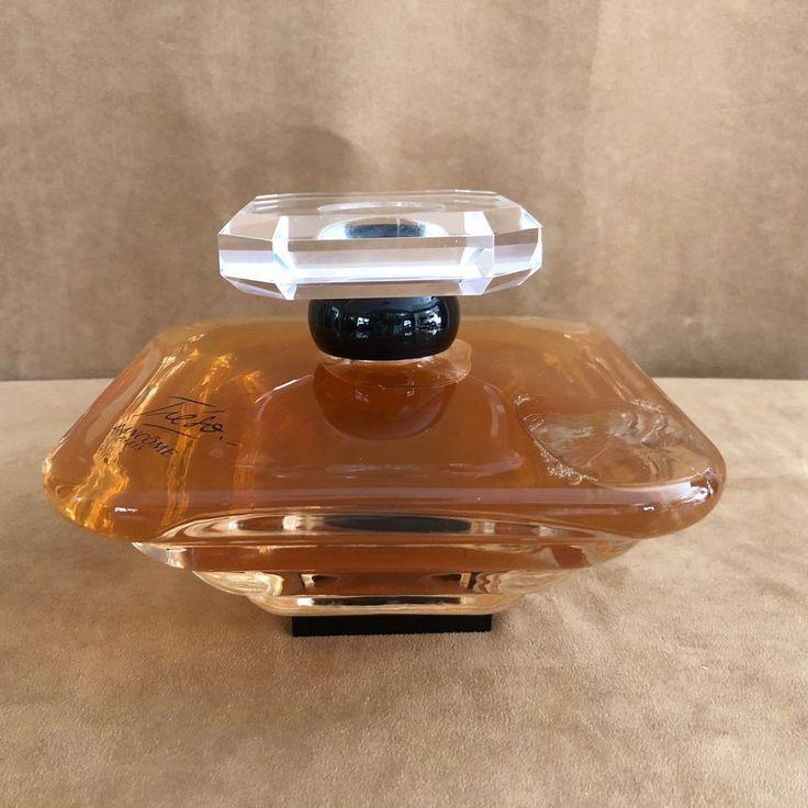 "1000 ML 8"" Tresor LANCOME Paris Factice Glass Perfume (WATER) Display Bottle"