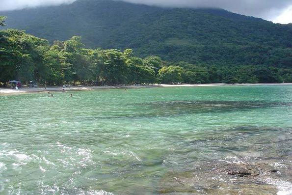 Praia de Domingas Dias em Ubatuba.