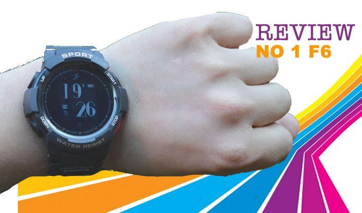 Repasamos este nuevo review del smartwatch NO 1 F6, un reloj económico y duradero que está pensado para ser usado en la práctica del deporte extremo.