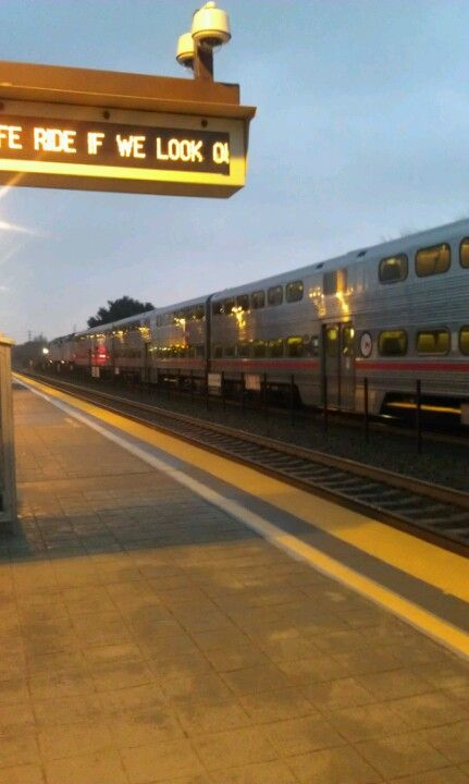Mountain View Caltrain Station in Mountain View, CA