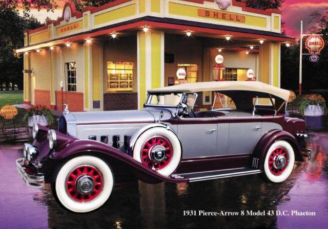 1931 Pierce Arrow Tesla Nikola Tesla Tesla Electric Car