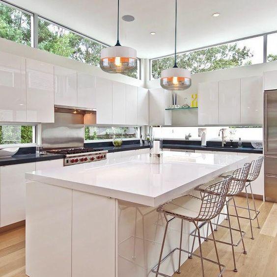 Basement Kitchen Design 9 Tips From Designer Samantha Pynn: 458 Best High-Gloss Kitchen Images On Pinterest
