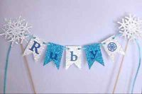 Any Name personalised Cake Bunting