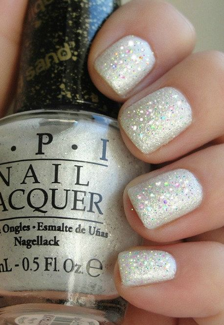 Opi Winter Wonderland Manicure Solitaire Liquid Sand Holographic Shimmer Dust Nail Polish Complete Instructions Great Stocking Stuffer Christmas