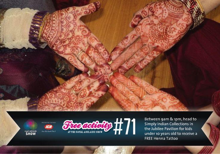 Henna Art! #AdelShow