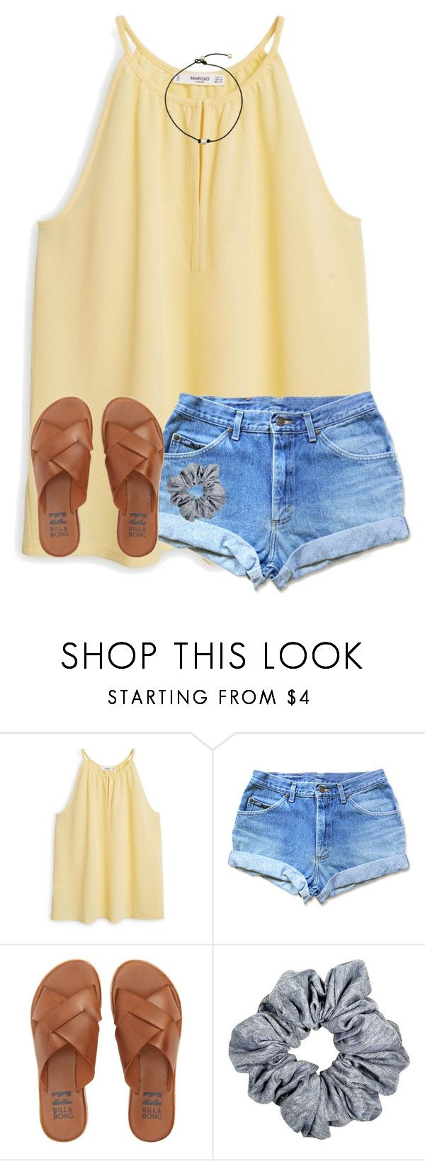 """""""so ready for summer"""" by ponyboysgirlfriend ❤ liked on Polyvore featuring MANGO and Billabong"""