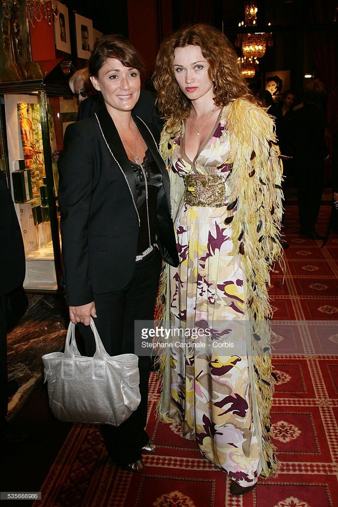 Daniela Lumbroso and Marine Delterme arrive at the opening dinner of the 33rd Deauville Film Festival.