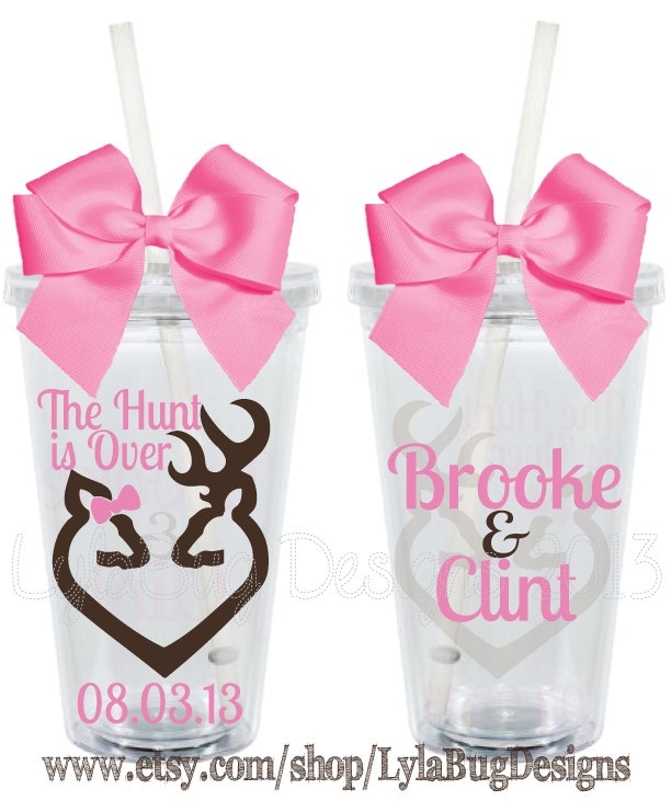 The Hunt is Over Wedding Design Personalized by LylaBugDesigns, $15.00
