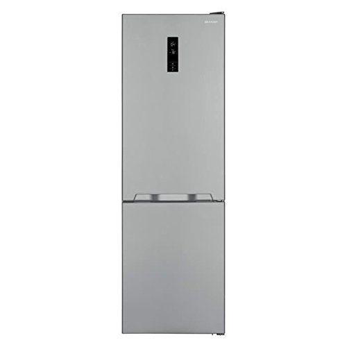 SHARP – Refrigerateurs combines inverses SJBA 11 IEXI 1 –: Réfrigérateur congélateur bas - Volume : 324L (230L+94L) - Froid ventilé…
