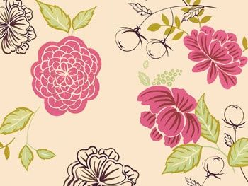 Leaves and Flowers - wallpapers