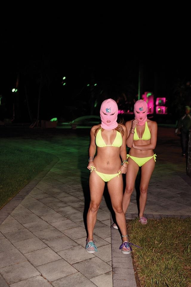 Spring breakers Harmony Korine - far more interesting satire on modern American life/dream than Wolf of Wall Street