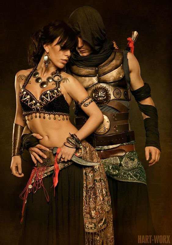 """Somebody once said they didn't like male bellydancers because they """"all look like they're trying to be women"""".  I refute your point, madam.  Also, rawr."""
