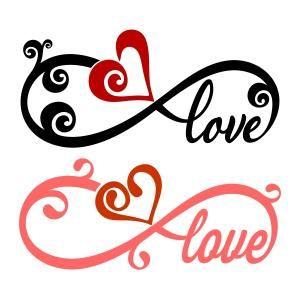 Download Infinity Heart Cuttable Designs | Valentines svg, Fairy ...