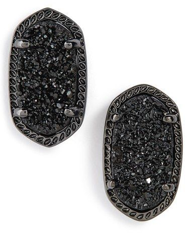 Kendra Scott 'Ellie' Oval Stone Stud Earrings
