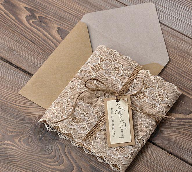 MOD Finds: Rustic Chic Wedding Invitations