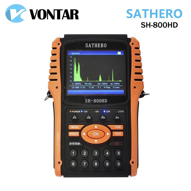 >> Click to Buy << [Genuine] Sathero SH-800HD DVB-S2 Digital Satellite Finder Meter SH-800 USB2.0 HDMI Output Sat finder HD with Spectrum Analyzer #Affiliate