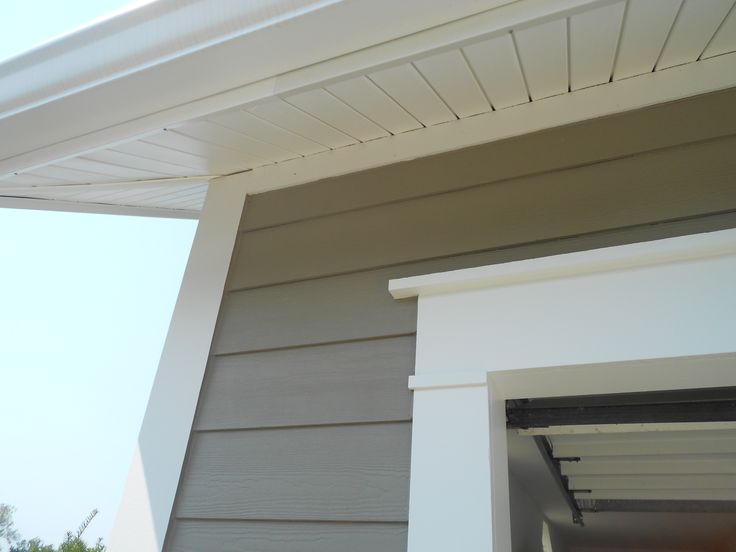 Close Up Of Aluminum Wrap Fascia And Royal Hidden Vent