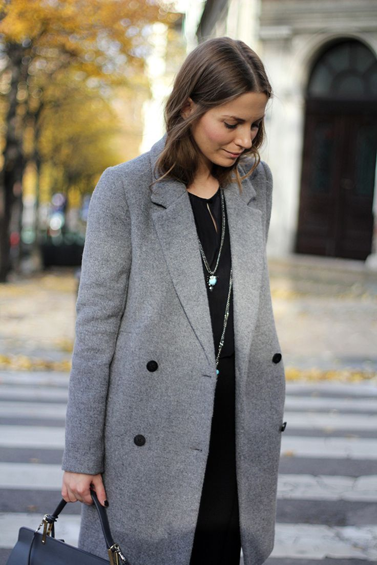 Lovely Grey Coat Grey Pinterest Coats Grey And Grey Coats