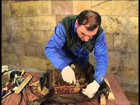 Реставрация стула с Давидом Гургенидзе - YouTube