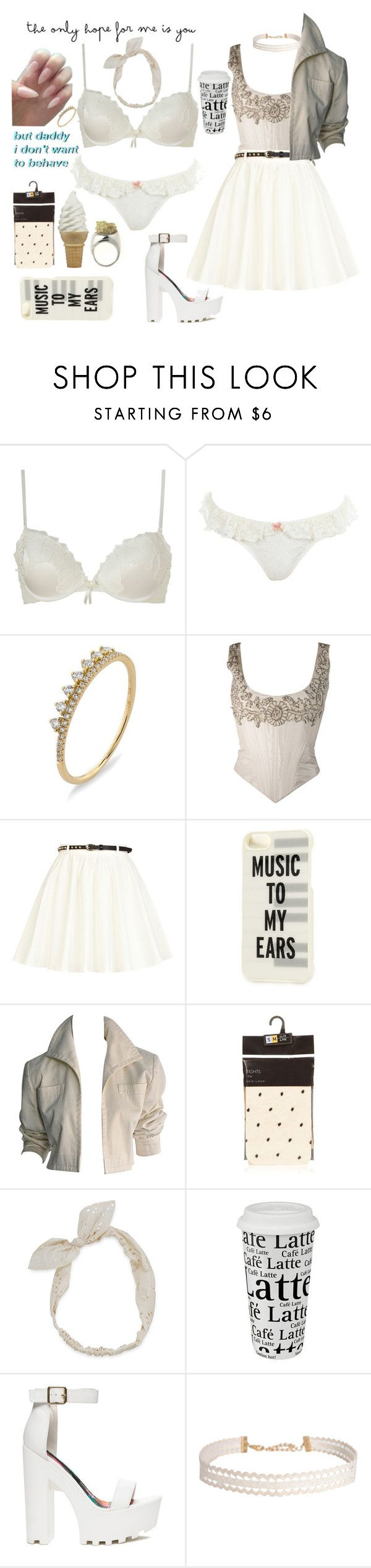 """""""daddy J's"""" by xkitten-pokerx ❤ liked on Polyvore featuring Elle Macpherson Intimates, Miss Selfridge, Bony Levy, River Island, Kate Spade, YSL RIVE GAUCHE, Carole, Könitz and Humble Chic"""