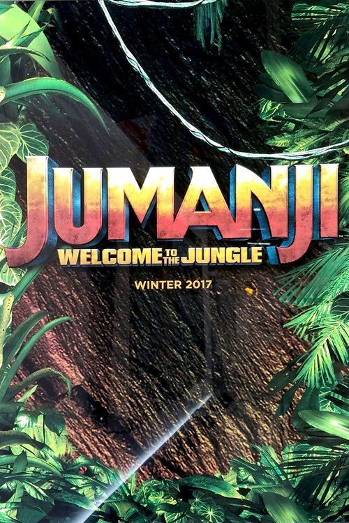 Jumanji: Welcome to the Jungle (2017) Full Movie Streaming HD