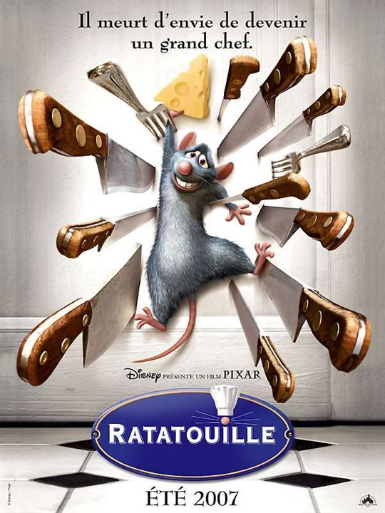 93. Ratatouille (Brad Bird, 2007)