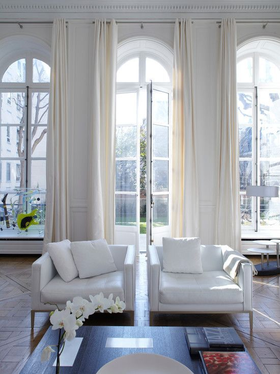 25 best ideas about arched window curtains on pinterest for Living room archway designs