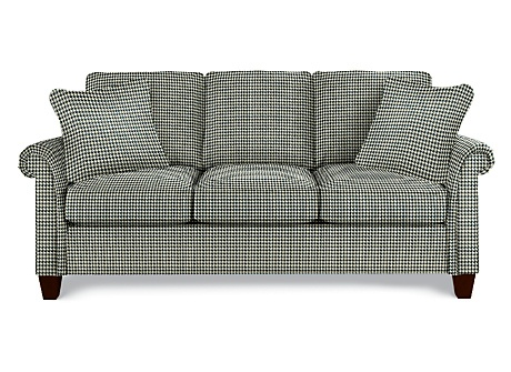 Houndstooth Pattern Houndstooth Couch Set Sofa Set