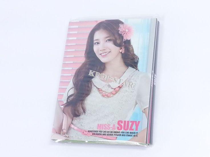 SUZY Miss A Portable Photo Memo Pad KPOP Korean K Pop Star