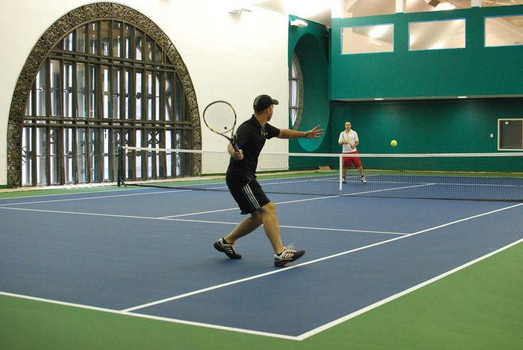 Private Tennis Lessons at the secret tennis courts in Grand Central Station